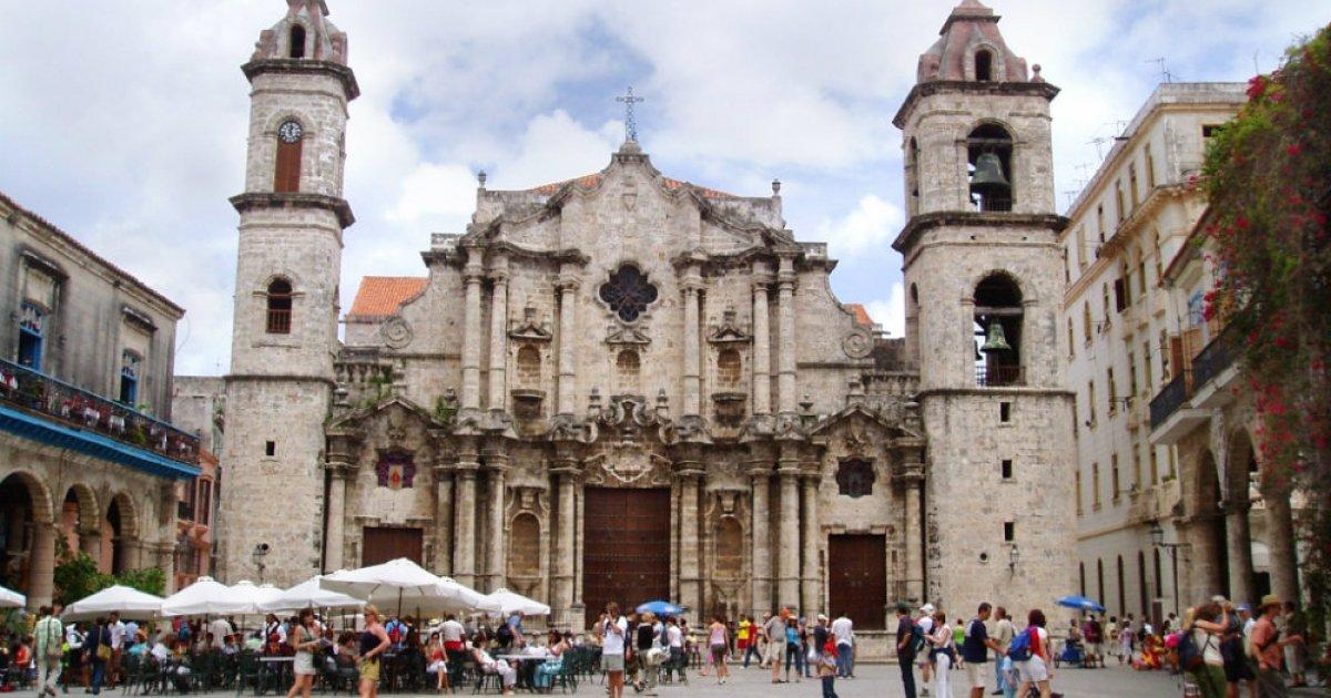 La Catedral de La Habana, una joya de la arquitectura barroca.