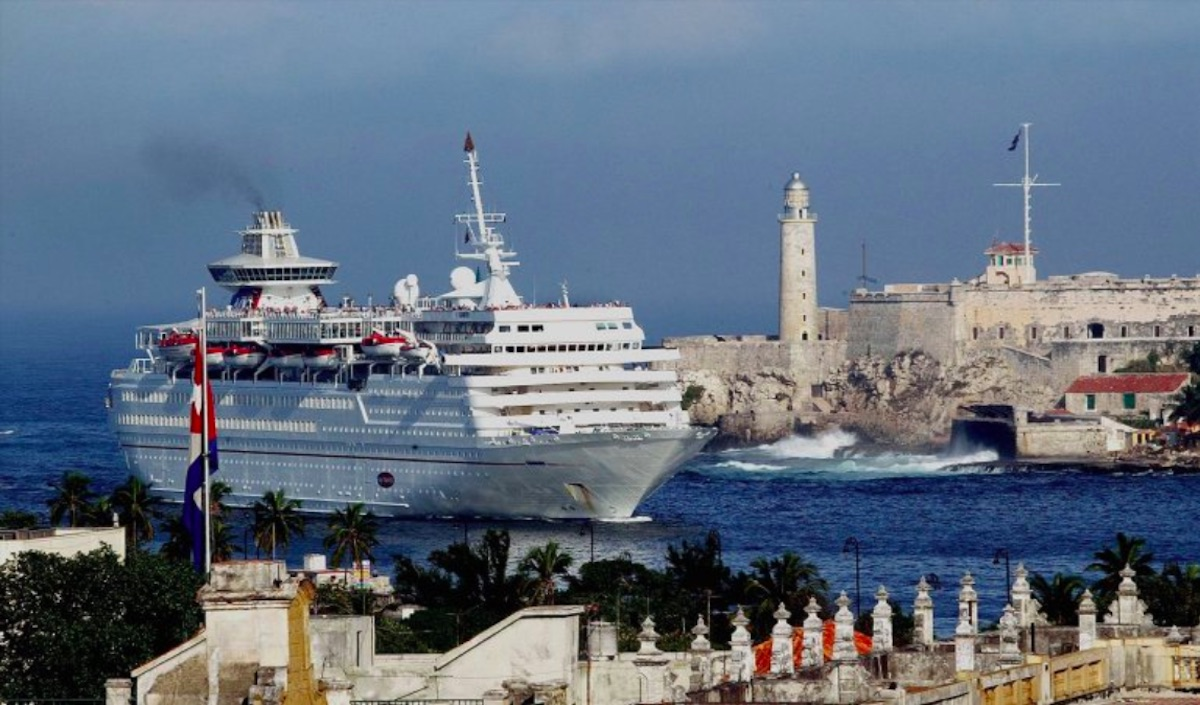 El Castillo de los Tres Reyes del Morro en La Habana.