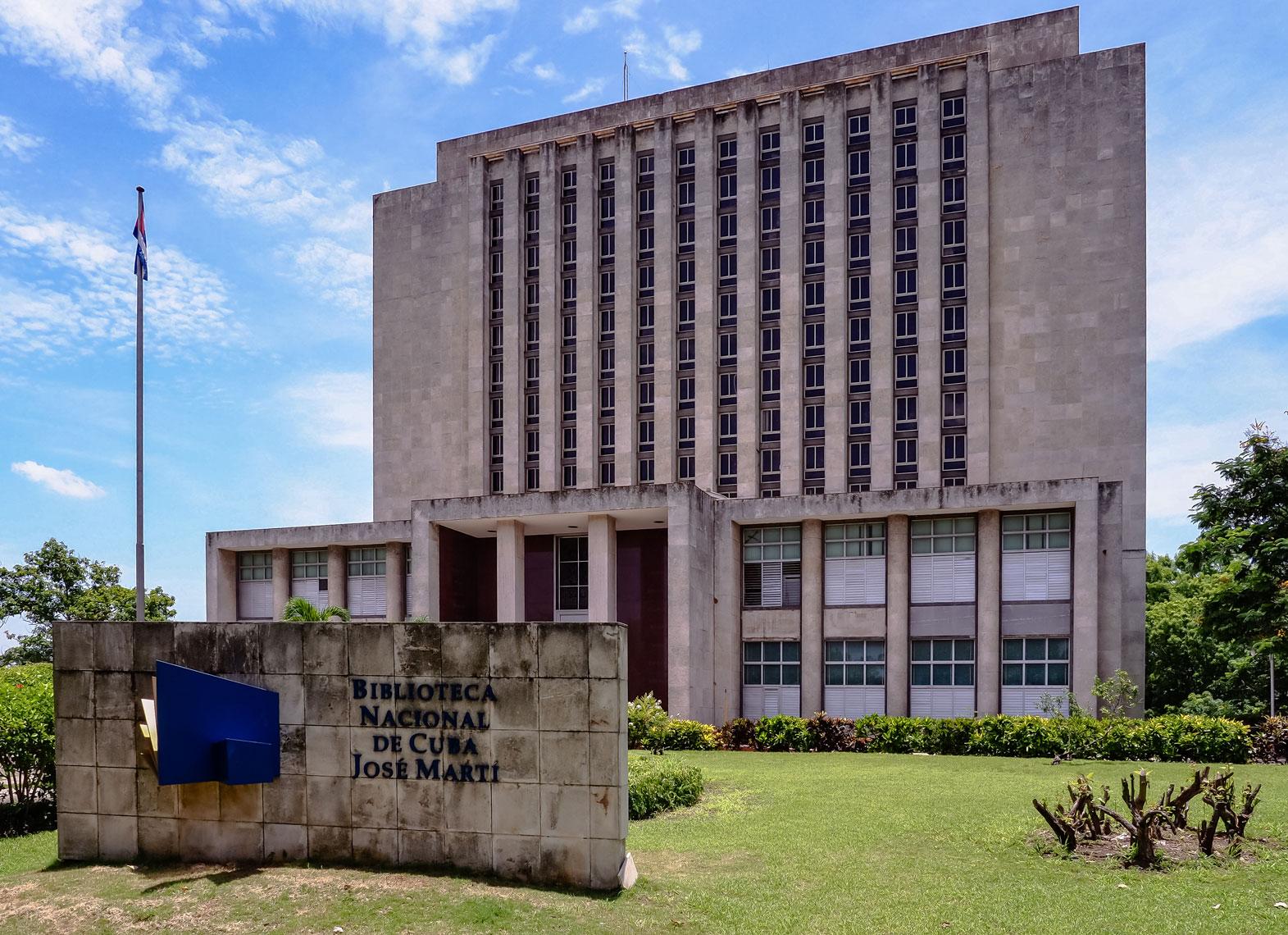 La Biblioteca Nacional de Cuba, un caudal de conocimiento.