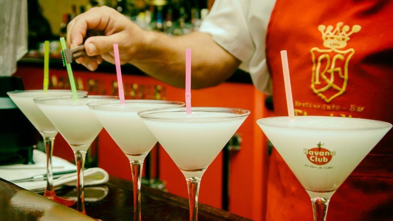 El Daiquirí, uno de los cócteles más internacionales de los nacidos en Cuba