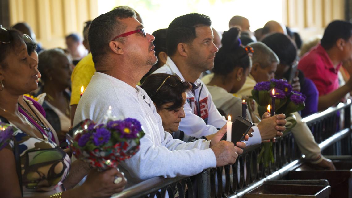 Celebración de San Lázaro en Cuba