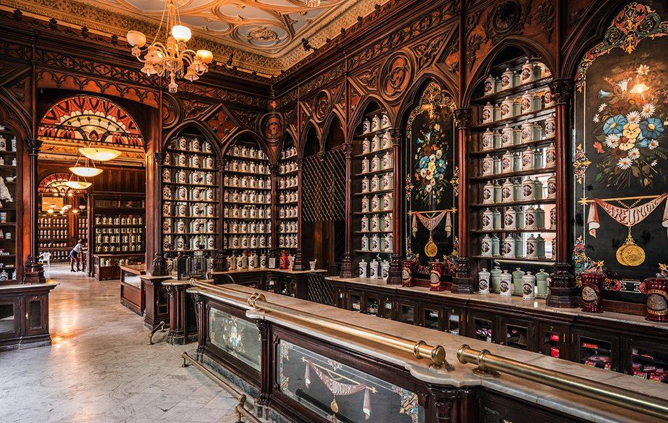 Farmacia en La Habana fue considerada en su momento la segunda más grande del mundo
